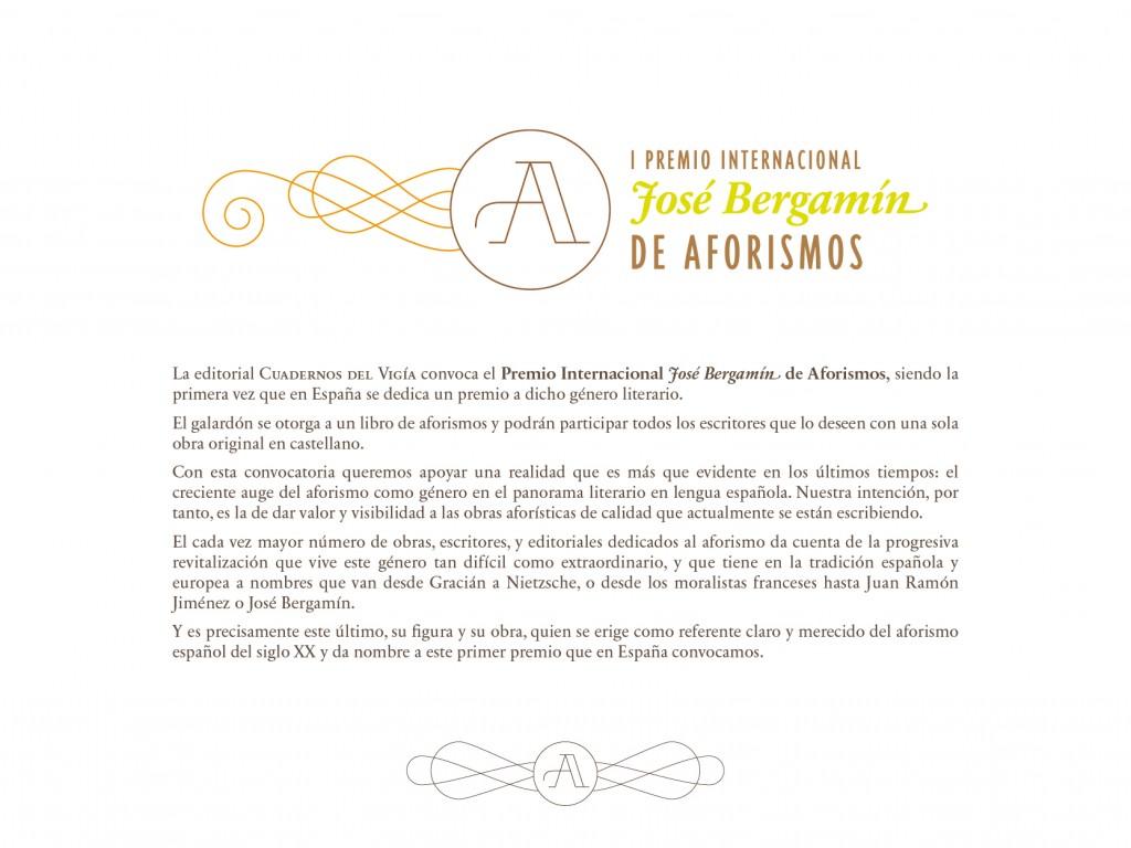 I Premio Internacional de Aforismos-01
