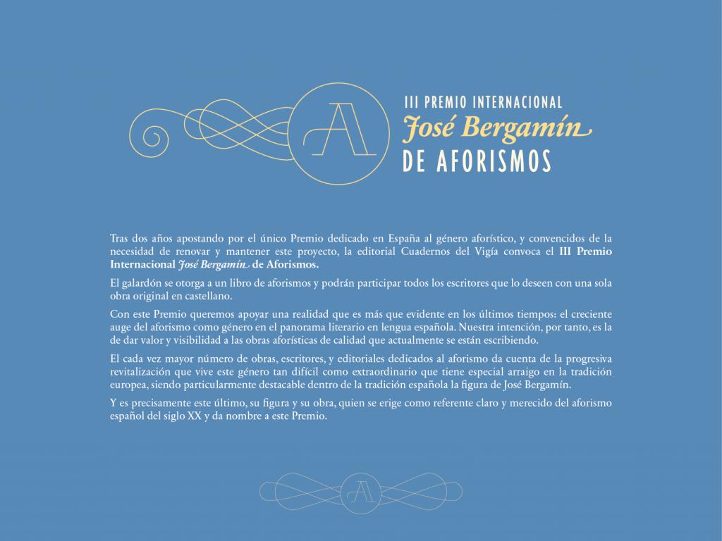 III Premio Internacional de Aforismos-01