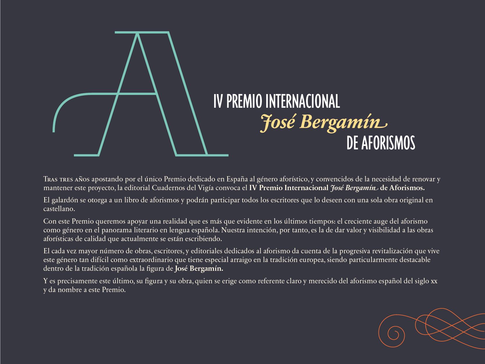 IV Premio Internacional de Aforismos-01
