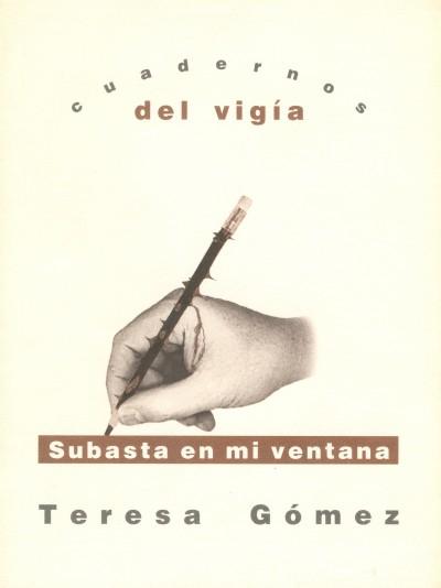 11 - TERESA GÓMEZ Subasta en mi ventana (2000)